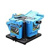 3In1 Multifunción Afilador de cuchillos para el hogar Sacapuntas de herramientas Sacapuntas eléctricas Máquina de afilador de cuchillas Afilado de cocina 96W (Color : A)