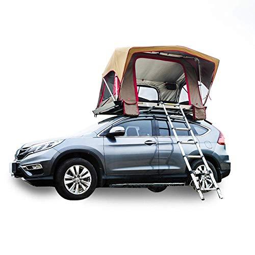 Outdoor-Zelt SUV-Auto Automatisches Dachzelt Selbstfahrer-Tour 2 Personen öffnen schnell Hartschalen-Campingzelt - Autoausrüstung