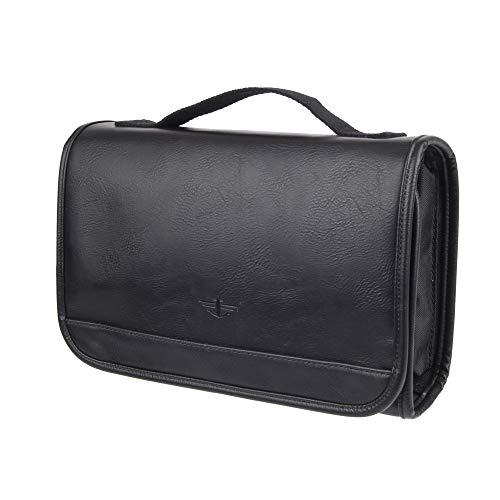 Dockers Men's Hanging Travel Kit, black tone, One Size