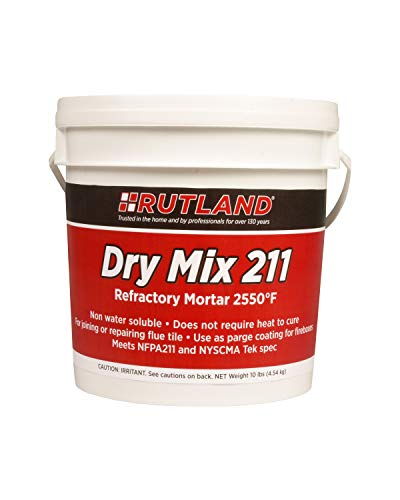 Rutland Products 211 Dry Mix Refractory Cement, 10 lbs