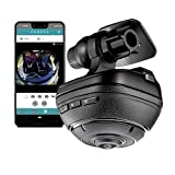 RAZO DC3000A d'Action 360, 360 Degree Dash Cam: 4K Dash Camera for Car with...