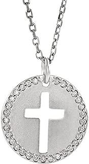 medici cross necklace