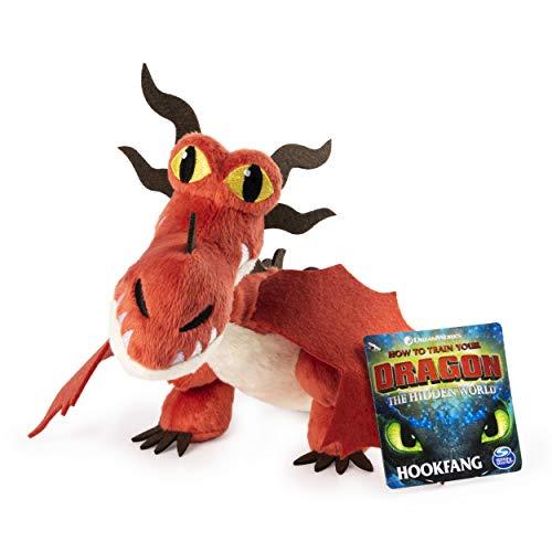 Dreamworks Dragons, Hookfang 8' Premium Plush Dragon, for Kids Aged 4 & Up