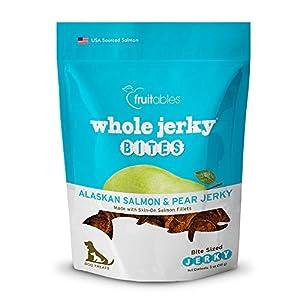 Fruitables Whole Jerky Bites Alaskan Salmon Dog Treats, 5 Oz