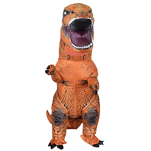 Rafalacy Inflatable Dinosaur Costume for Adult Blow up T-rex Costume Funny...