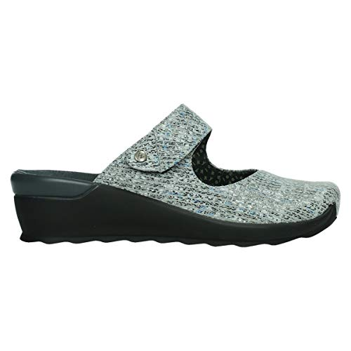 Wolky Comfort Clogs Up - 41920 grau Multi Suede - 41