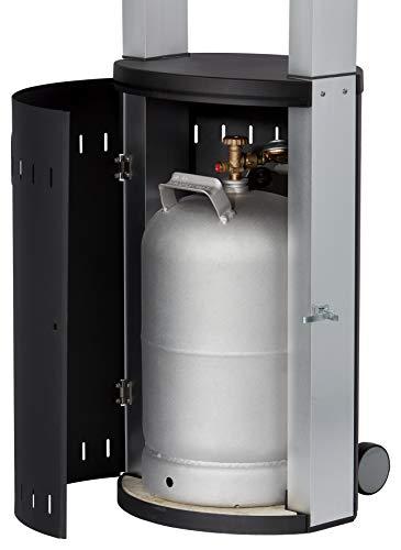 Enders Terrassenheizer Gas ECOLINE PURE, Gas-Heizstrahler 5640, Terrassenstrahler mit Ultra Brenner-Technologie, Transporträder, Umkippsicherung - 5