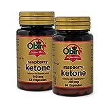 Obire Ketonas de frambuesa 300 mg. - 60 cápsulas, Pack 2 unidades