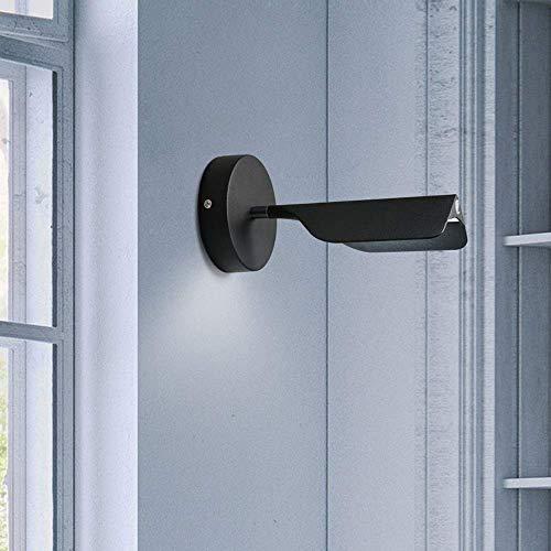 YXZQ Interruptor táctil de Calidad Luz de Pared Regulable Lámpara de Pared con Cabeza giratoria acogedora Lámpara de Pared Moderna y Minimalista Dormitorio Junto a la Cama Personalidad LED Aplique de