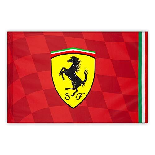 Master Lap Bandera Scuderia Ferrari Pole 120x90cm.