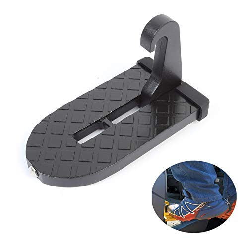NEWX Pedal de puerta de coche, escalera plegable, reposapiés para vehículo, fácil...