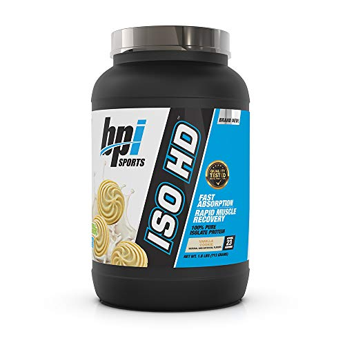 BPI Sports ISO HD – 100% Whey Protein Isolate