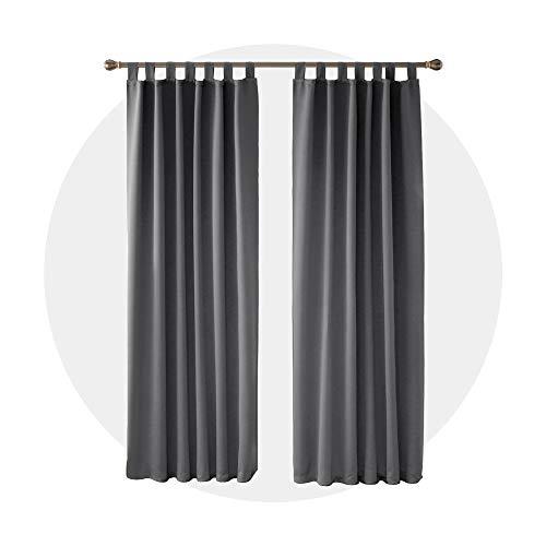 cortinas salon opacas modernas 2 piezas