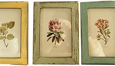 إطار خشبي عتيق لصورة الزفاف 6 بوصة لديكور الطاولة أو المكتب