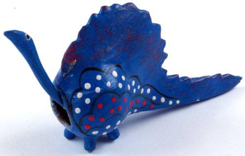Guru-Shop Bobblehead Dier, Bobblehead Dier - Draak, Blauw, Kleur: Blauw, 3,5x9 cm, Dierenfiguren