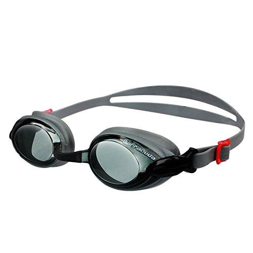 Dr.B Barracuda RX – Optische Schwimmbrille mit Sehstärke (Diverse zwischen +1.0 bis + 3.0) für Damen und Herren, 100% UV-Schutz, Anti-Beschlag-Beschichtung #92295 (+2.0)
