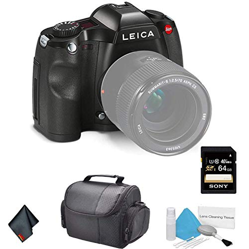 Affordable Leica S (Typ 006) Medium Format DSLR Camera (Body Only) 10803 37.5MP - Bundle with 64GB M...