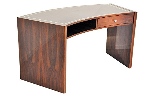 OAM Pariser Makassar Schreibtisch mit geschwungener Tischplatte
