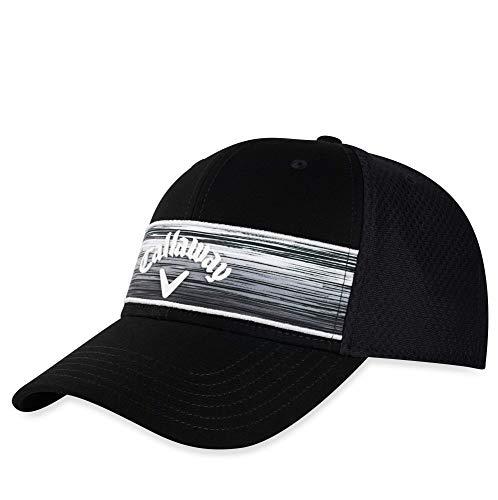 callaway golf stripe mesh hat