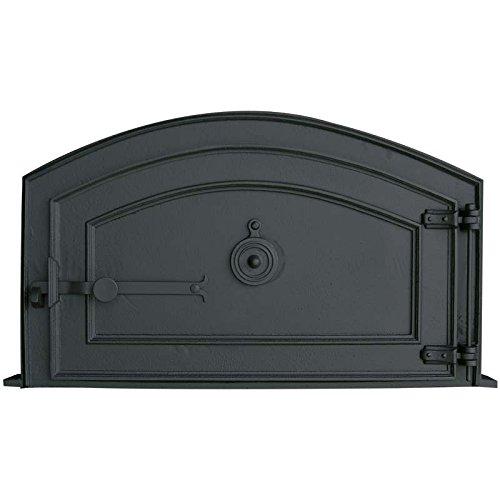 Fonderie Lacoste 0360 Porte de Four, Noir, 75 x 9 x 44,5 cm
