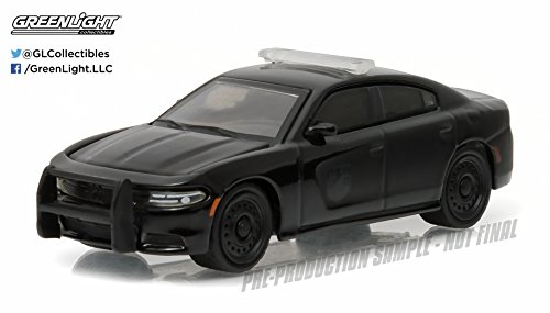 Dodge 2016 Charger Pursuit Black Bandit Police 1/64 by Greenlight 27860 D