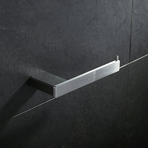 Homelody Toilettenpapierhalter SS304 Edelstahl Klopapierhalter Wandrollenhalter WC-Papierhalter Rollen halter Toilettenpapierrollenhalter (Matt)