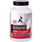 Nutri-Vet Hip & Joint Advanced Strength Dog Joint Supplement Chews