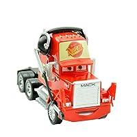 車のおもちゃライトニングマックィーンジャクソンの嵐マックおじさんトラック1時55分ダイキャストモデルカーのおもちゃ子供のクリスマスギフト (Color : Mack Head)
