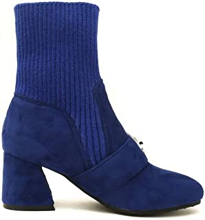 BalaMasa Womens ABS14061 Imitated Suede Boots