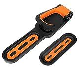 Montaggio a Parete Bike Hook Rack Verticale Gancio Bagagli Hanging Titolari Pieghevole Heavy Duty Garage Capannone Arancione Nero Accessori Biciclette