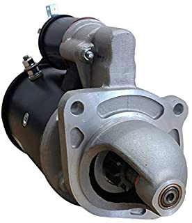 STARTER MOTOR COMPATIBLE WITH NEW HOLLAND TRACTOR 3910 3930 4130 4630 26395H 26925 26925A 27500 27500A 27500B 27500C 27500D 27500E
