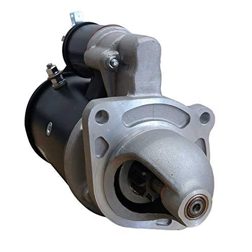 Rareelectrical STARTER MOTOR COMPATIBLE WITH NEW HOLLAND SKID STEER LOADER L865 332T L783 LS180 LX865 LX885 1988-2000