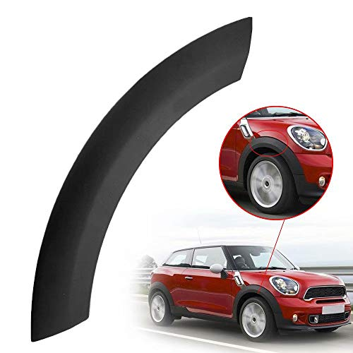 Paddsun Front Right Wheel Upper Fender Arch Cover Trim for BMW Mini One/One D/Cooper/Cooper S R50 R52 R53 (2002-2008) 51131505866