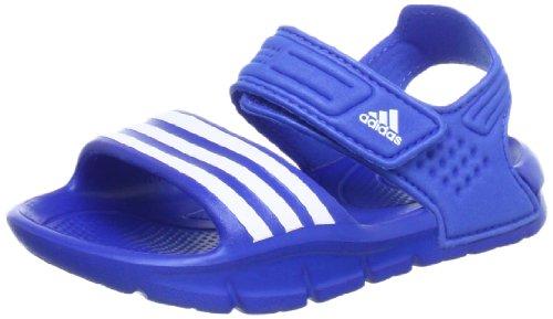 adidas Performance Akwah 8 Q22613, Unisex-Kinder Sandalen, Blau (Satellite / Running White Ftw / Satellite), EU 33