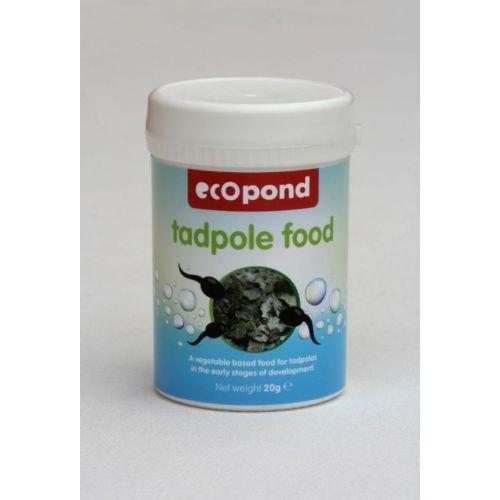 Ecopond Futter für Kaulquappen, 20g