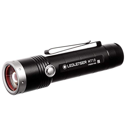 Ledlenser, MT10 Rechargeable Handheld Flashlight, High Power LED, 1000...