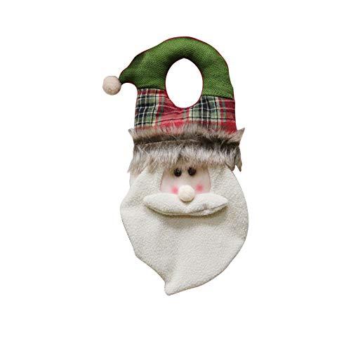 ZHAOHUIYING Weihnachtsdekoration Tür Hängen Weihnachten Fensterdekoration Alter Mann Schneemann Weihnachtsdekoration Türklopfer Hängen Urlaub Lieferungen Santa Claus