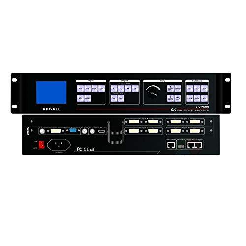 2017 VDWALL LVP609 Profesional LED Procesador de Vídeo 4K 60Hz Pole-Definition Professionalvideo procesador envío Libre DHL de China