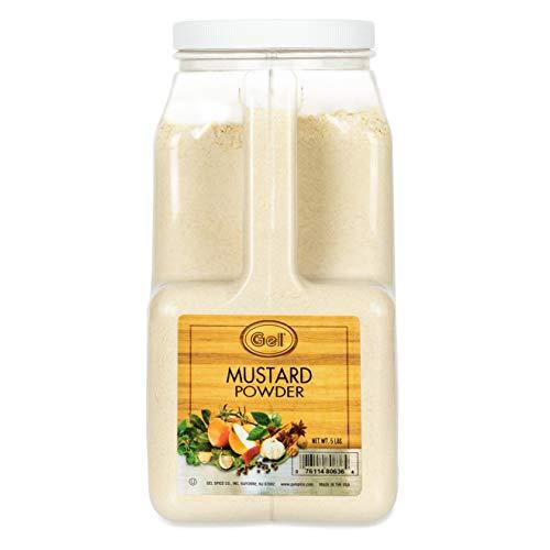 Gel Spice Mustard Powder 5 Lb   Food Service Size