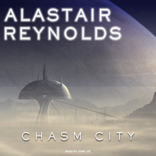 Chasm City audiobook cover art