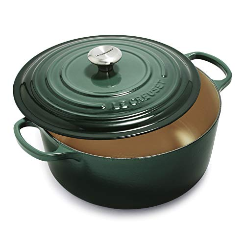 Le Creuset Signature Enameled Cast-Iron Round Dutch Oven, 9-Quart, Artichaut
