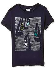 OVS Boy's T-Shirt, Grey (Total Eclipse)
