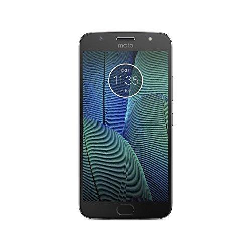Motorola Moto G5S Plus - Smartphone Libre de 5.2' Full HD, 3.000 mAh de batería, cámara de 13 MP, 4 GB de RAM + 32 GB de Almacenamiento, procesador Snapdragon de 2.0 GHz, Color Gris