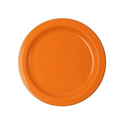 WACA® 1947-746 Teller Kunststoffteller 240 mm ∅ 241 mm orange