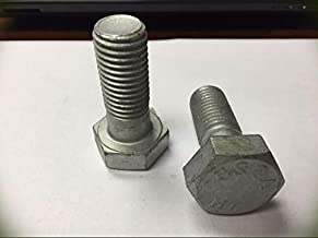 5/8-11 x 2-1/4 A325 Structural Bolts Hot Dipped Galvanized 100 Count Box Metric Hardware Fastener Kit