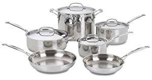 Cuisinart 77 Chef's Classic Stainless Steel Cookware Set Review