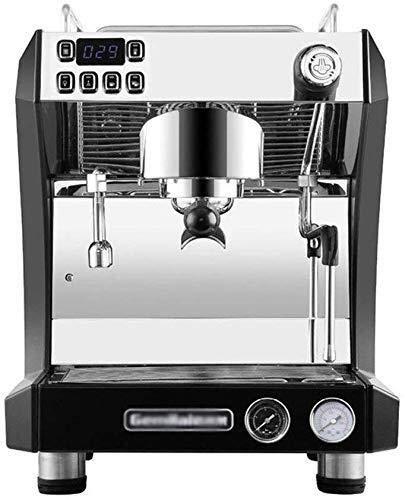 GNLIAN HUAHUA Máquina de café de Cafetera semiautomática Comercial Italiana de Vapor Bomba Cafetería Internet Cafe