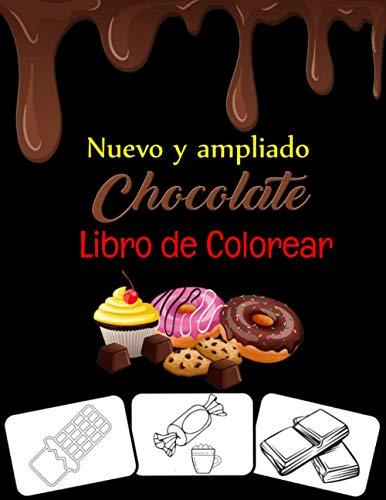 CHOCOLATE LIBRO DE COLOREAR: LIBRO PARA COLOREAR DE CARAMELOS PARA NIÑOS Libro...