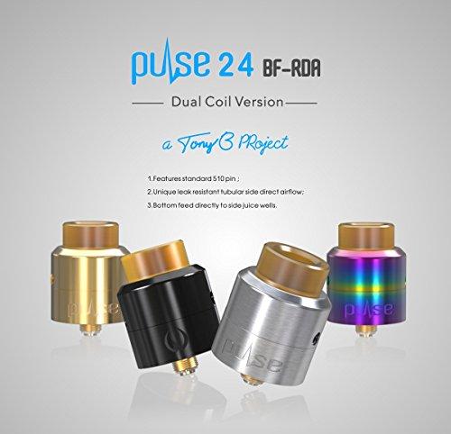 Atomizador Vandy Vape Pulse 24 BF RDA - Black - Negro