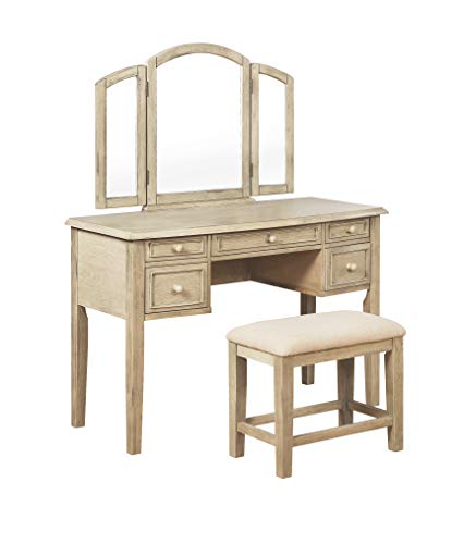 Find Bargain Powell Company Powell Crighton Cream Stool Vanity